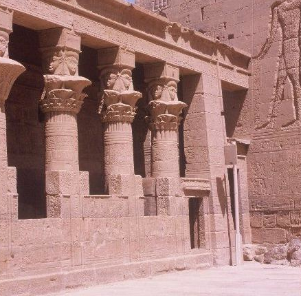 Hathor shrine at Philae